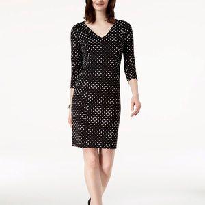 Charter Club Polka-Dot-Print Dress